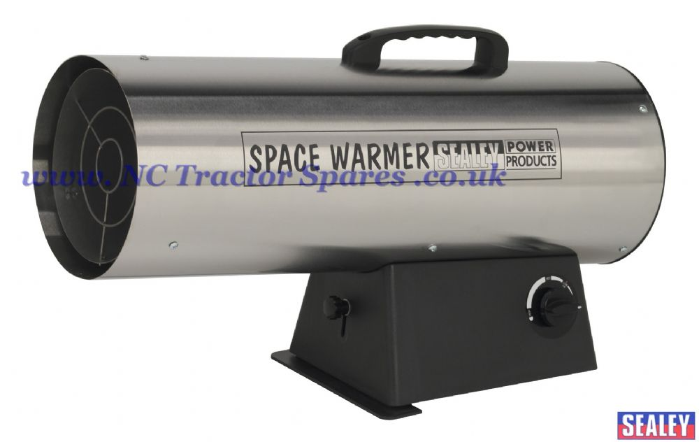 Space Warmer Propane Heater 110,000-150,000Btu/hr - Stainless Steel
